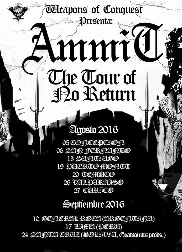 AMMIT The Tour of No Return