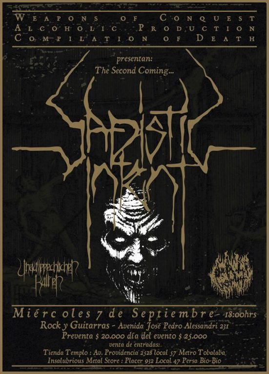 Sadistic Intent en Chile